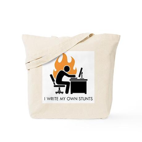 Write My Own Stunts Tote Bag