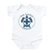 Sea Turtle Rescue Infant Bodysuit