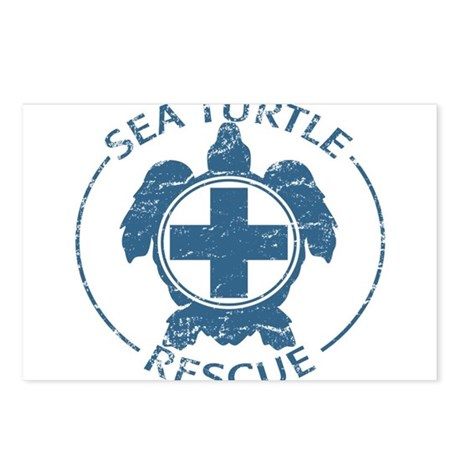 Sea Turtle Rescue Postcards (Package of 8)