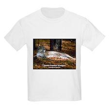 Florida Panther Cougar Photo Kids T-Shirt