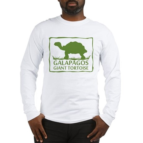 Galapagos Giant Tortoise Long Sleeve T-Shirt