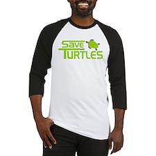 Save the Turtles Baseball Jersey