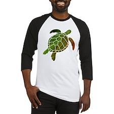 Swimming Turtle Baseball Jersey