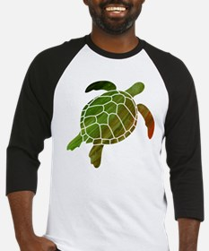 Swimming Turtle Baseball Jersey