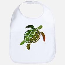 Swimming Turtle Bib