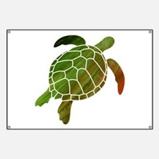Swimming Turtle Banner