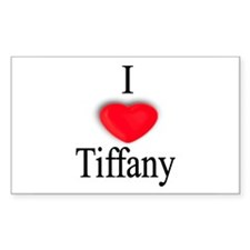 Tiffany Rectangle Decal