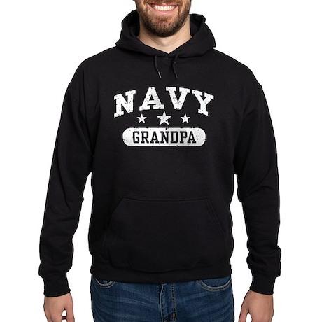 Navy Grandpa Hoodie (dark)