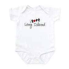 I Love Long Island Infant Bodysuit