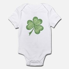 Vintage Shamrock Infant Creeper