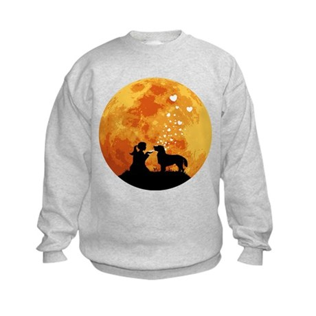 Flat-Coated Retriever Kids Sweatshirt
