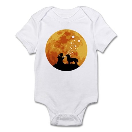 Flat-Coated Retriever Infant Bodysuit