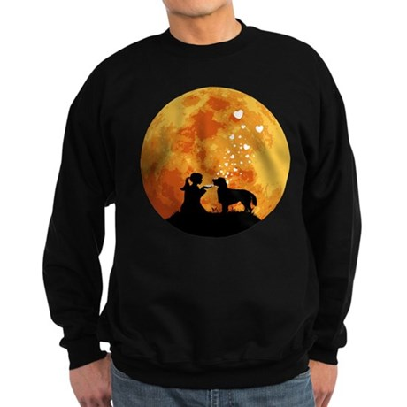 Flat-Coated Retriever Sweatshirt (dark)