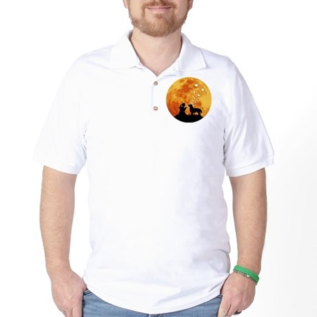 Flat-Coated Retriever Golf Shirt