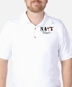 Navy Uncle Flag T-Shirt