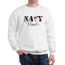 Navy Uncle Flag Sweatshirt