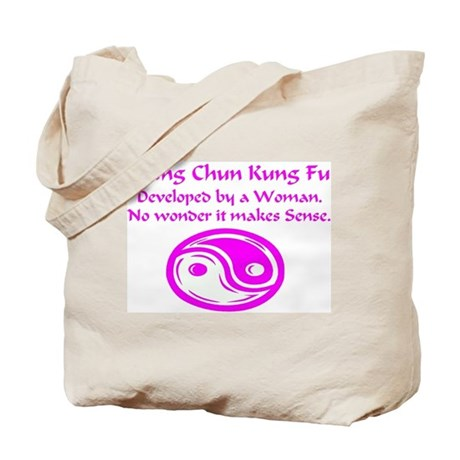 Wing Chun Woman Tote Bag