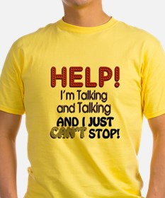 I Can't Stop Talking T