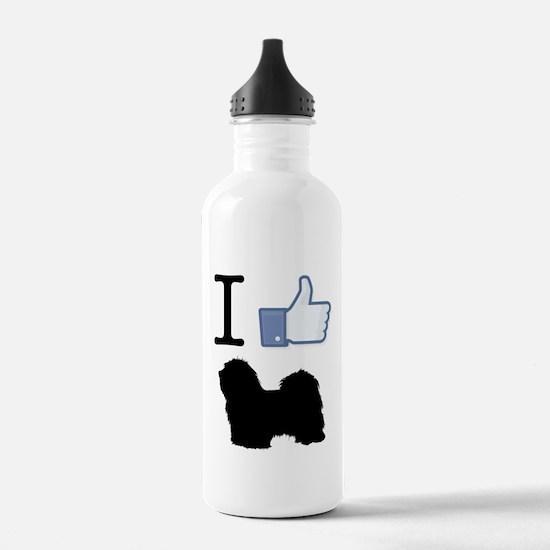 Havanese Sports Water Bottle