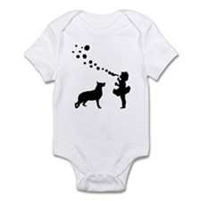 German Shepherd Dog Infant Bodysuit