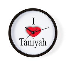 Taniyah Wall Clock