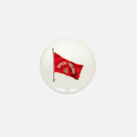Official BS Flag Mini Button