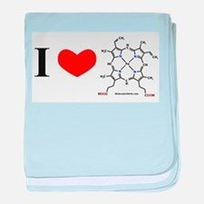 Molecularshirts.com Heme baby blanket