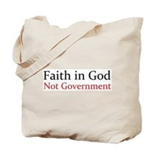 Faith in God Tote Bag