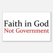 Faith in God Decal