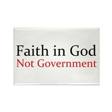 Faith in God Rectangle Magnet (10 pack)