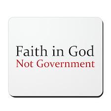 Faith in God Mousepad