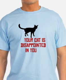 Cat Disappointed T-Shirt
