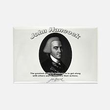 John Hancock 01 Rectangle Magnet (10 pack)