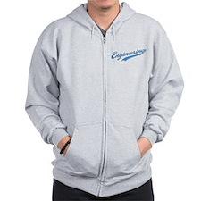 Engineering Swoosh (blue) Zip Hoodie
