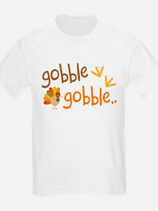 Gobble Turkey Thanksgiving T-Shirt