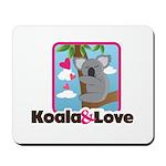 Koala & Love Mousepad