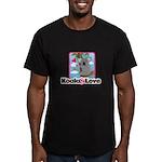 Koala & Love Men's Fitted T-Shirt (dark)