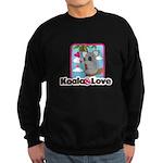 Koala & Love Sweatshirt (dark)