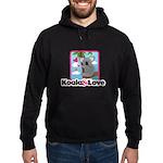 Koala & Love Hoodie (dark)