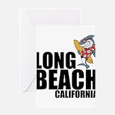 Long Beach, California Greeting Cards