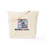 Koala & Love Tote Bag