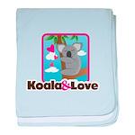 Koala & Love baby blanket