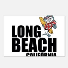 Long Beach, California Postcards (Package of 8)