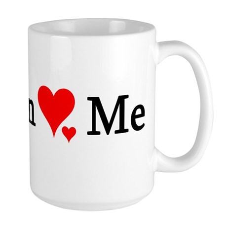 Marilyn Loves Me Large Mug