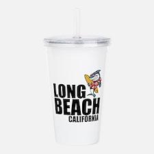 Long Beach, California Acrylic Double-wall Tumbler