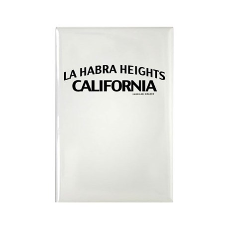 La Habra Heights Rectangle Magnet
