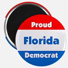 Florida Proud Democrat Magnet