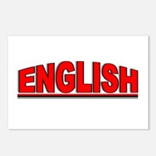 """""""English"""" Postcards (Package of 8)"""