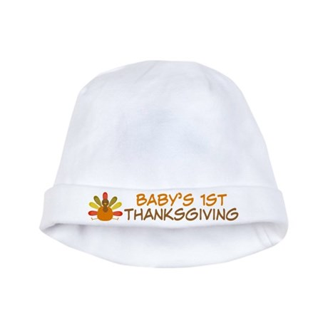 Babys 1st Thanksgiving Turkey Infant Hat