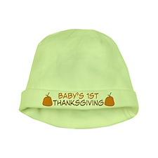 Babys First Thanksgiving Beanie Hat